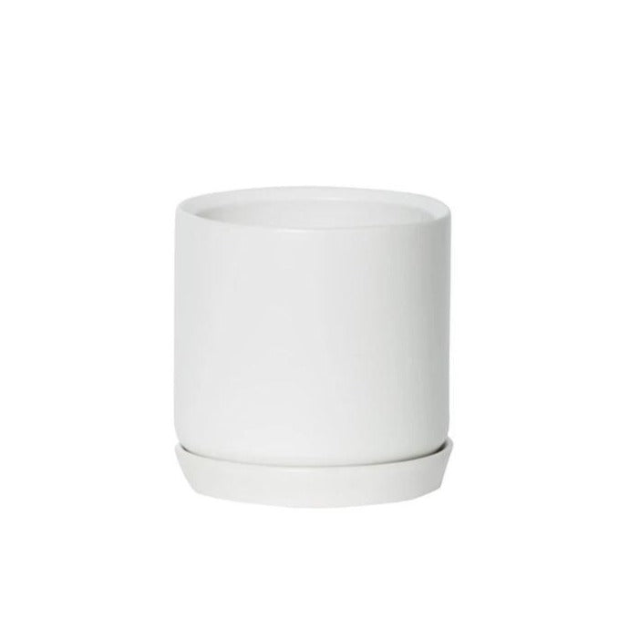 Ice White Oslo Planter