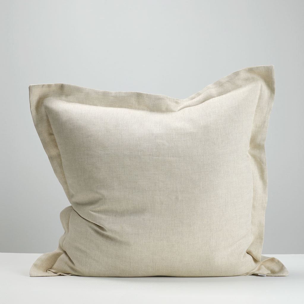 Natural European Pillowcase Thread Design