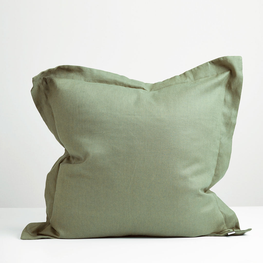 Sage European Pillowcase Thread Design