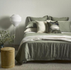 Thread Design Sage Linen Queen Duvet