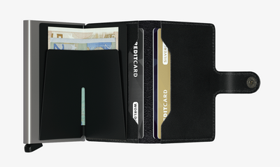 Secrid Black Miniwallet