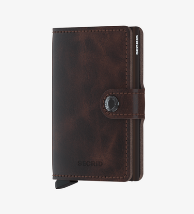 Secrid Chocolate Vintage Miniwallet