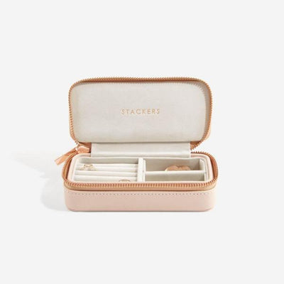 Stackers Blush Medium Travel Jewel Box