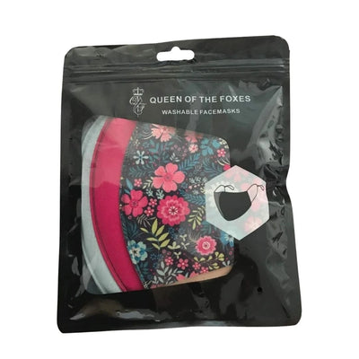 Floral Face Mask Set
