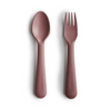 Mushies Woodchuck Fork and Spoon Set