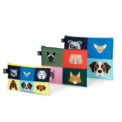 Loqi Dogs and Cats Zip Pockets