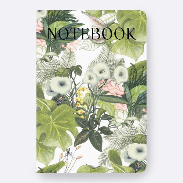 Botanical Jungle Notebook Father Rabbit