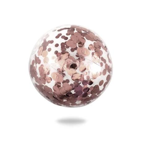 Splosh Minnidip Rose Gold Confetti Beach Ball