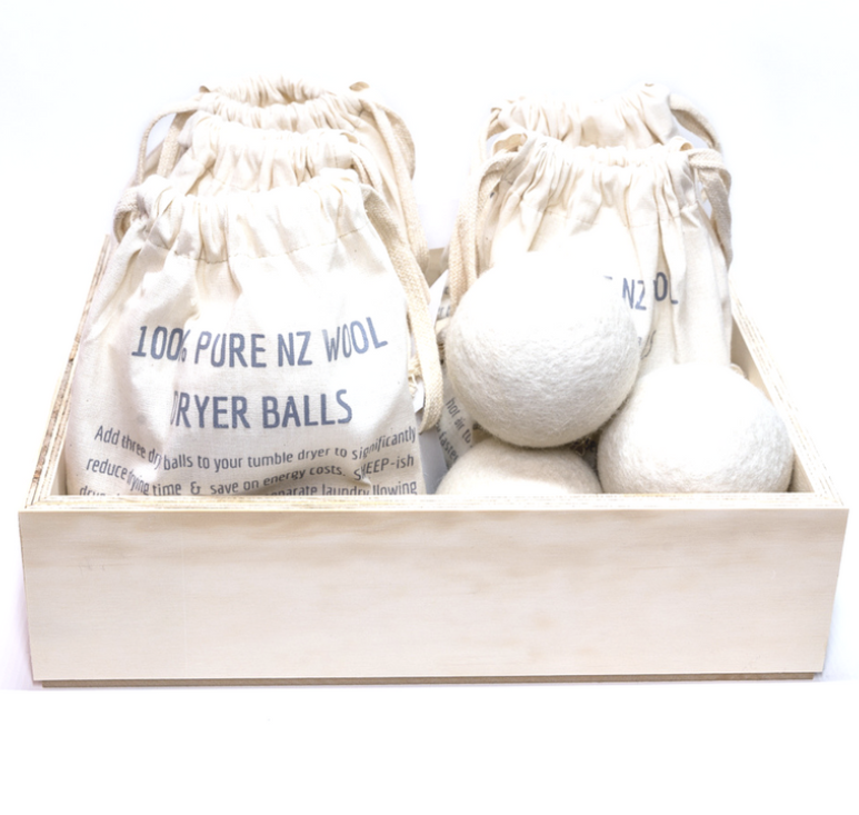 Wool Dryer Balls Sheepish Design