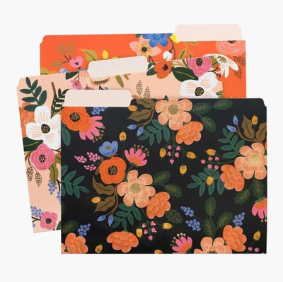Rifle Paper Co Lively Floral File Folders
