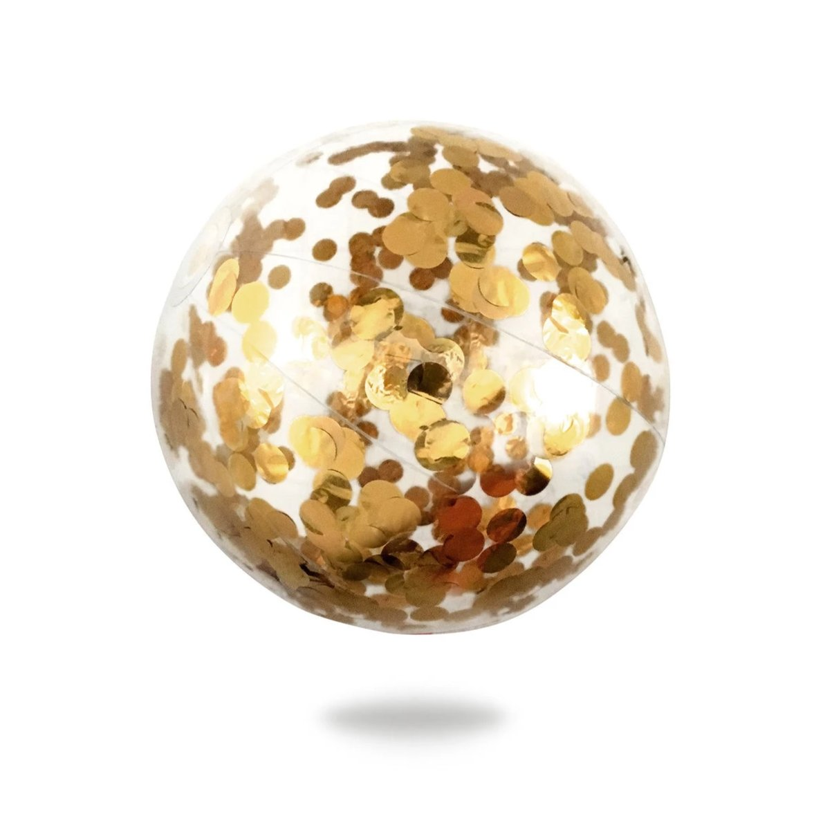 Splosh Minnidip Gold Confetti Beach Ball