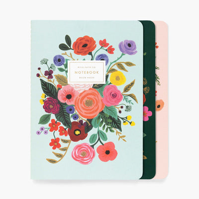 Rifle Paper Co Garden Party Stitched Notebook Set