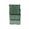Sage Knitted Wash Cloth Set