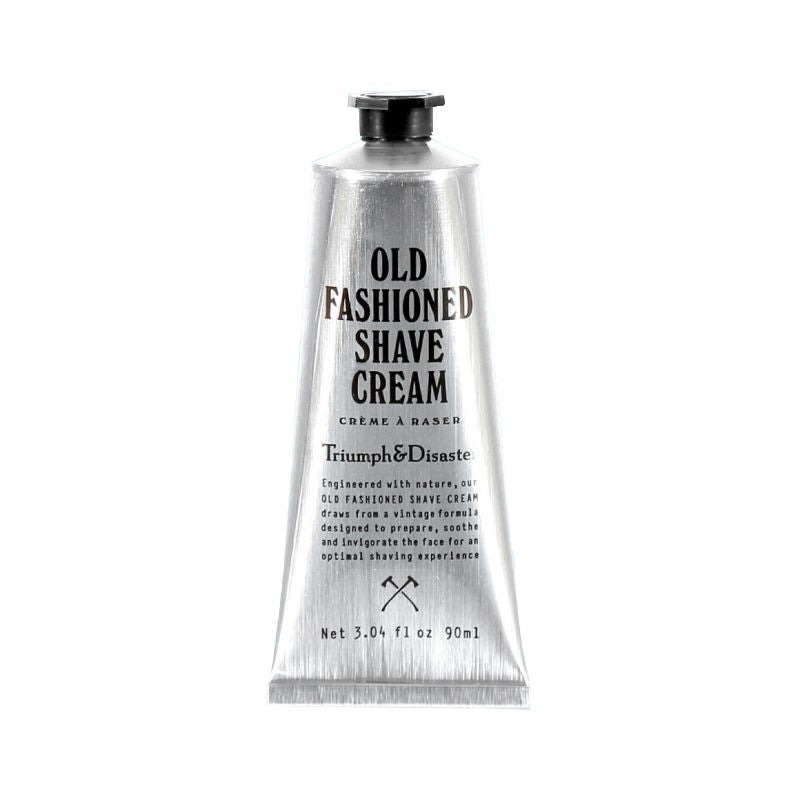 Old Fashioned Shave Cream Tube Triumph and Disaster