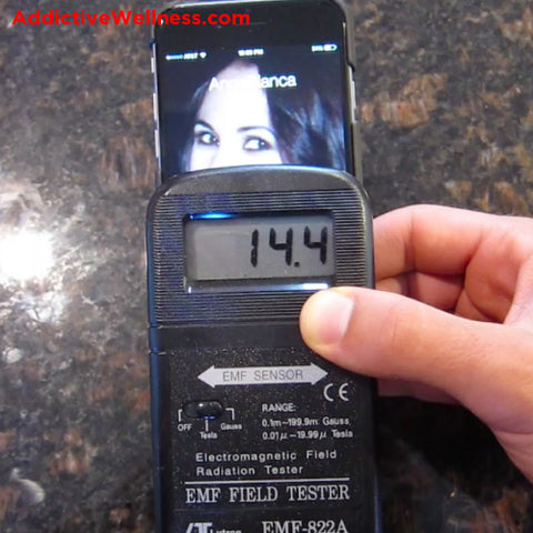 How much cell phone radiation is hitting you and when