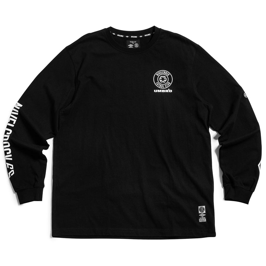 NIVELCRACK X UMBRO LONG SLEEVE BLACK
