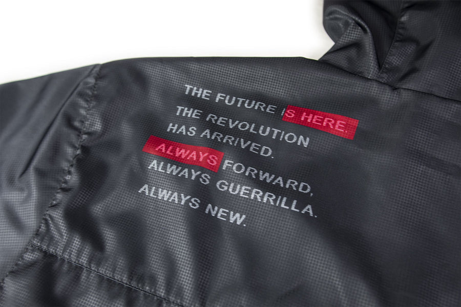 GUERRILLA FC X FORWARD SIGNATURE ANORAK JACKET