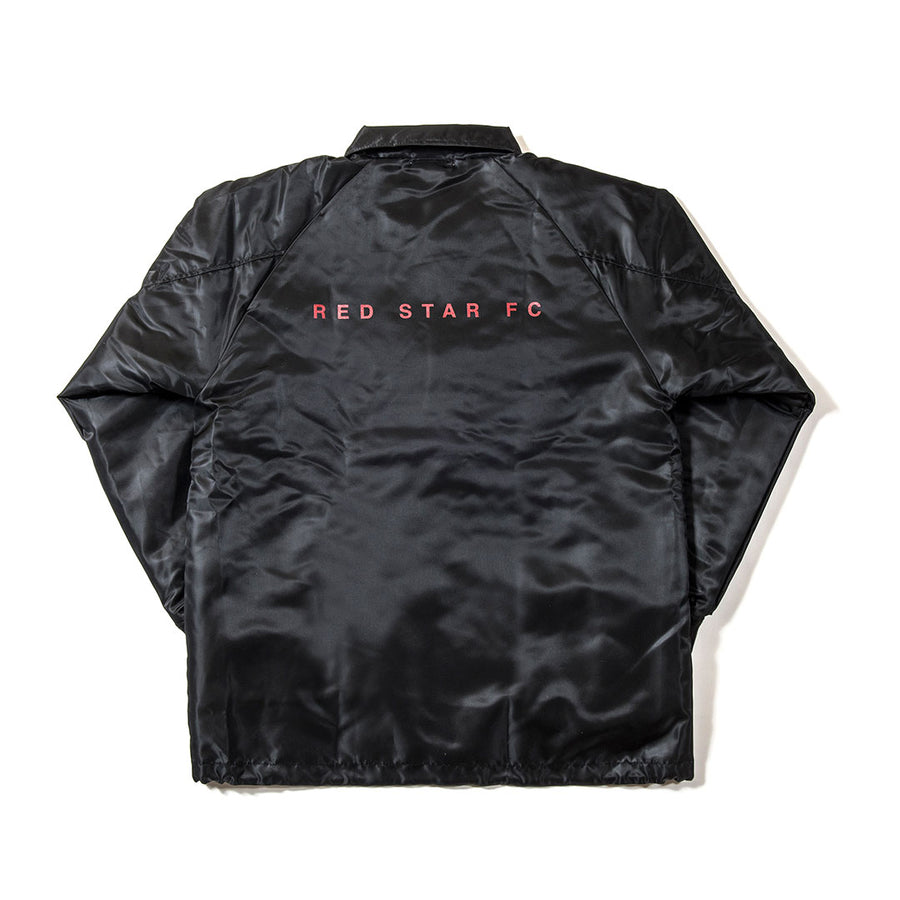 RED STAR COACH JACKET BLACK