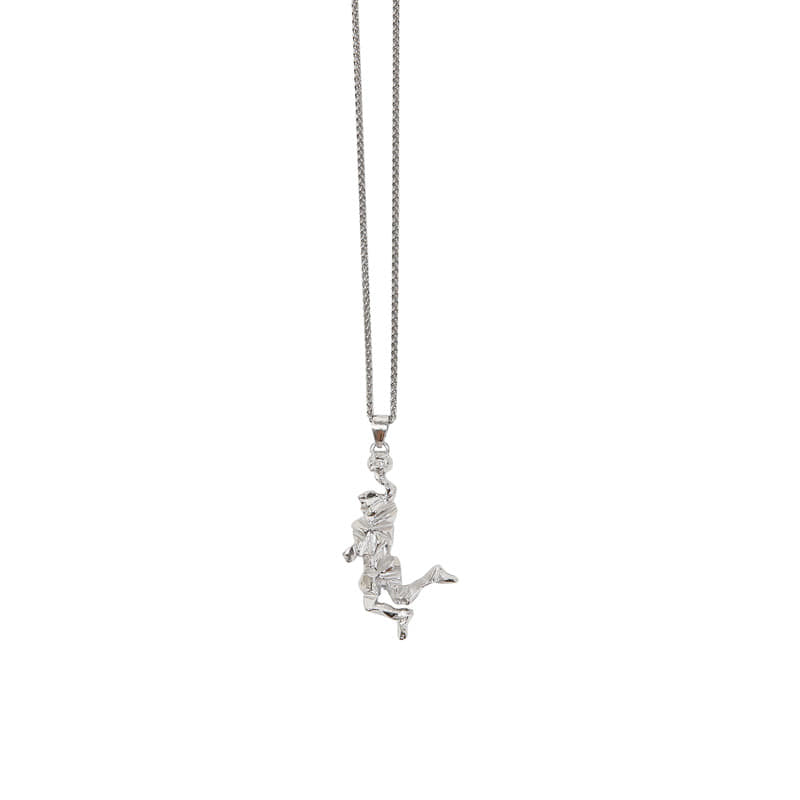 DIOS NECKLACE SILVER