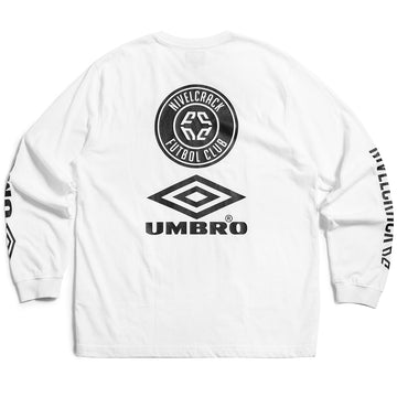 NIVELCRACK X UMBRO LONG SLEEVE WHITE