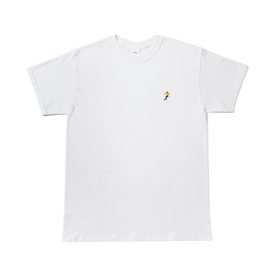 """RONNIE"" TEE / WHITE"