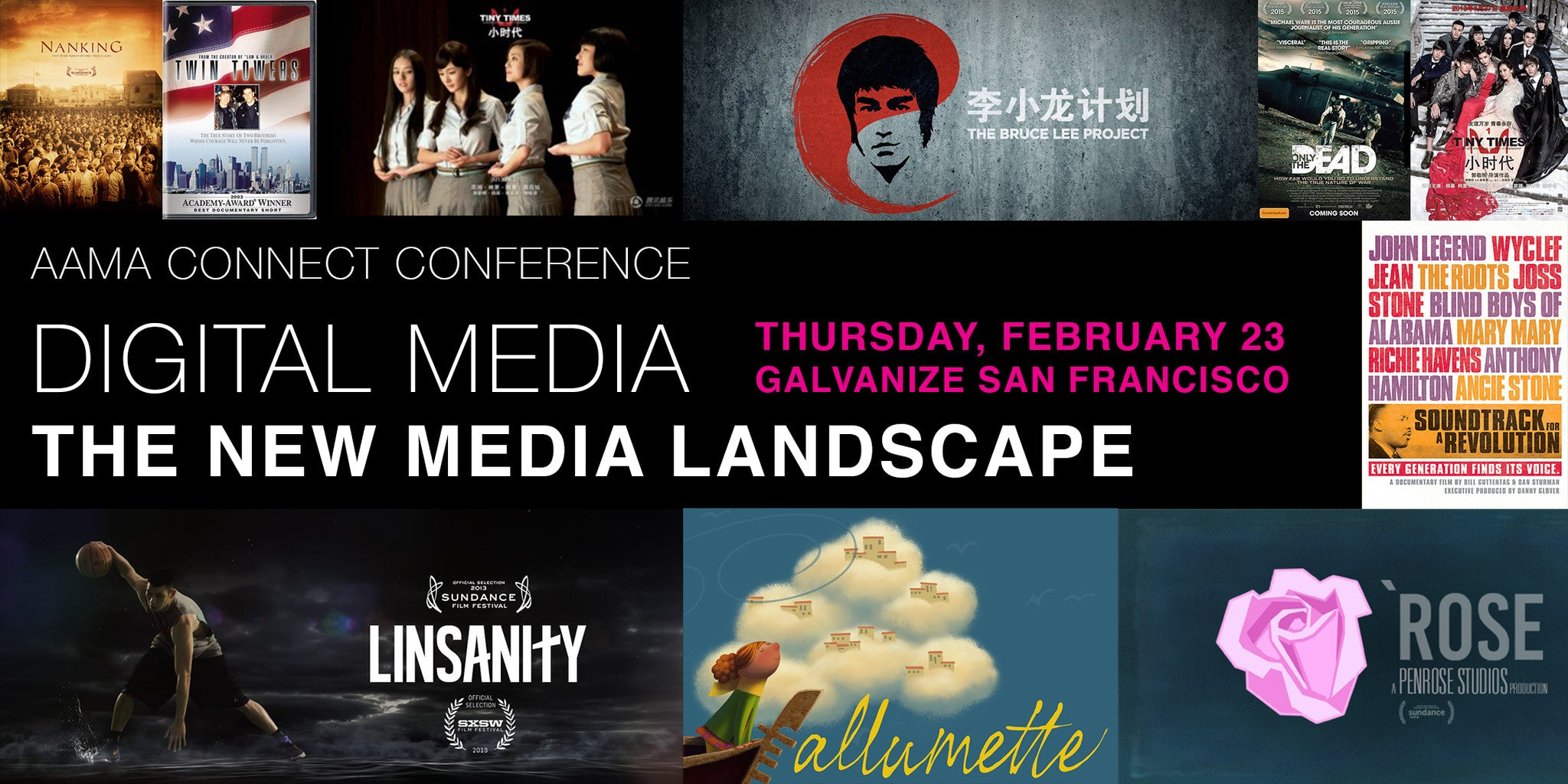 AAMA Connect Conference: Digital Media - The New Media Landscape