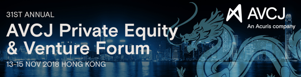 The 31st Annual AVCJ Private Equity & Venture Forum