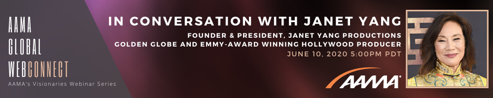 [Webinar] In Conversation with Golden Globe and Emmy-Award Winning Hollywood Producer Janet Yang