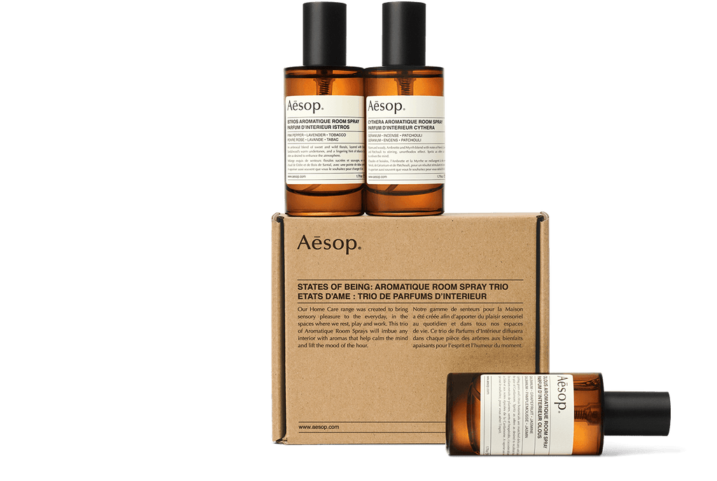 Aesop Trio Room Sprays 'States Of Being'