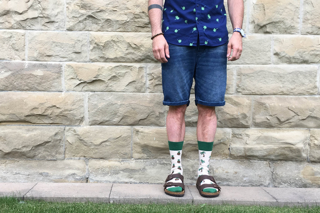 8 Ways to Wear Friday Socks this Summer