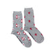 Women's Red Wine & Grapes Socks