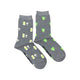 Women's White Wine & Grapes Socks