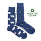 Men's Recycled Cotton Polar Bear & Penguin Socks
