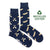 Men's Recycled Cotton Paddle & Canoe Socks - Friday Sock Co.