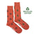 Men's Recycled Cotton Pine Cone & Pine Tree Socks