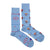 Men's Hockey Rink & Hockey Player Socks