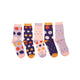 Women's Purple & Orange Polka Dots Lost Sock Laundry Box™