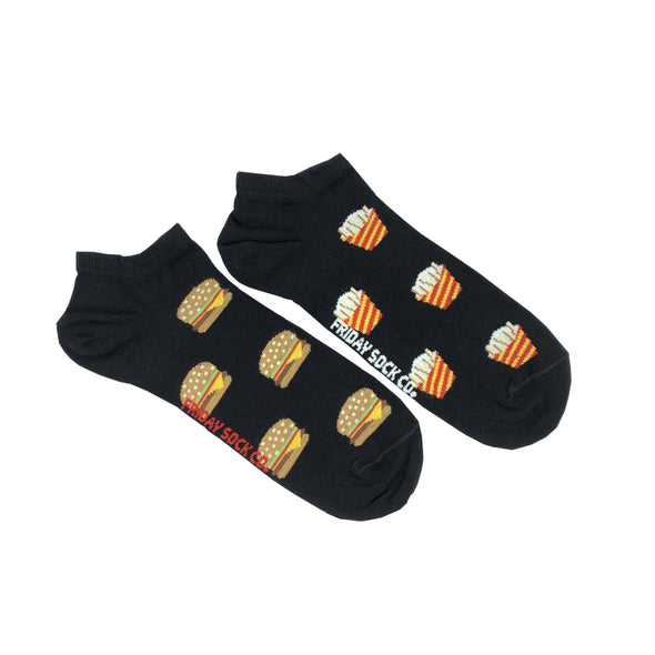 *NEW* Burger and Fries ANKLE (Men's 7-12)