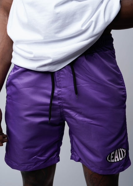 SS21 Leaux Shorts - Purple