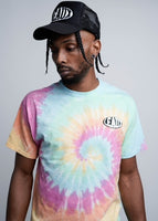 Limited Edition Leaux Puff Print Tee - Tie Dye