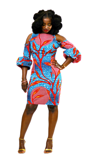 Ohemaa Aba Dress - Akese Stylelines