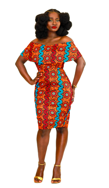 Onie Off-Shoulder Dress - Akese Stylelines