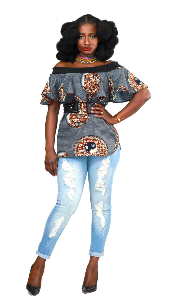 Ohema Off-Shoulder Top - Akese Stylelines