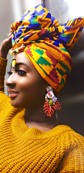 Ahaban Earrings - Akese Stylelines