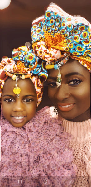 Papabi Headwrap (mommy and mini) - Akese Stylelines