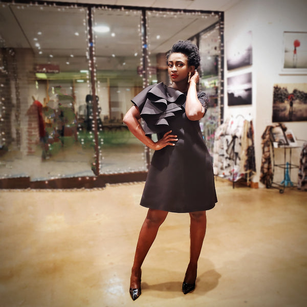 CJ dress , Black - Akese Stylelines