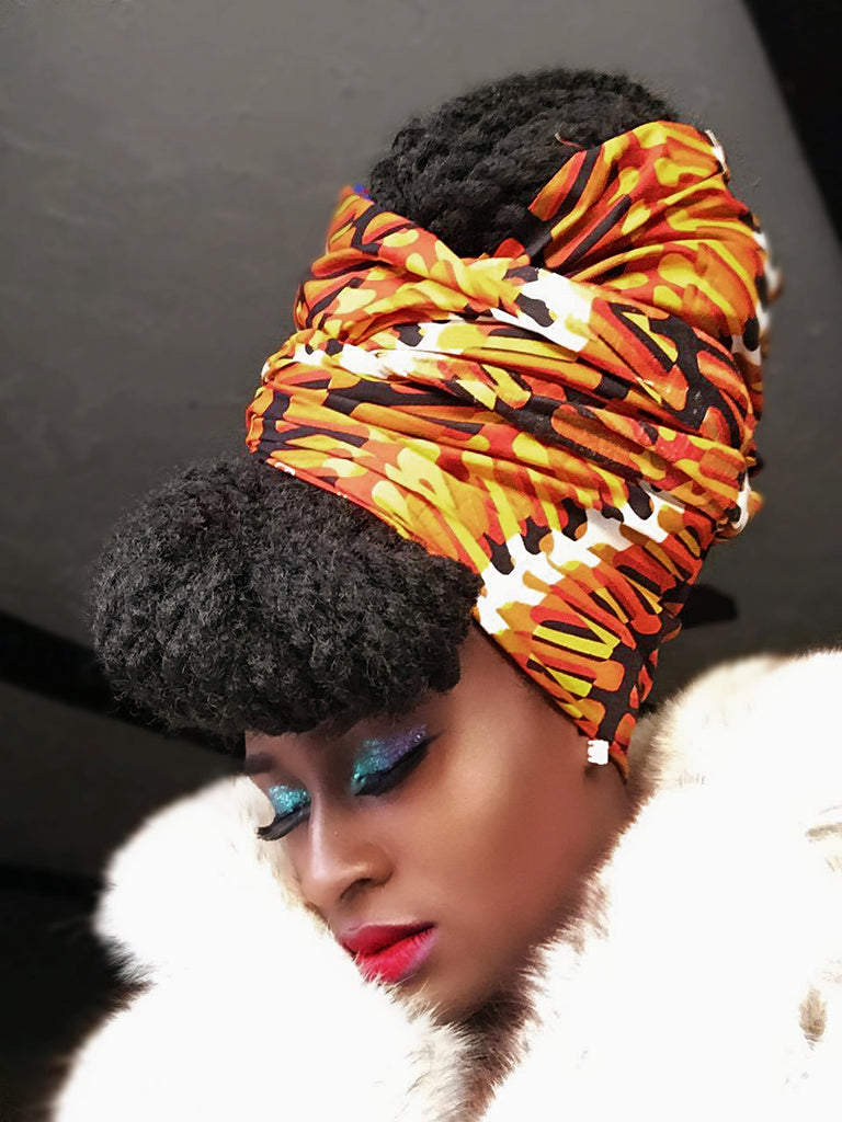 New....Duku Akese Head Wrap