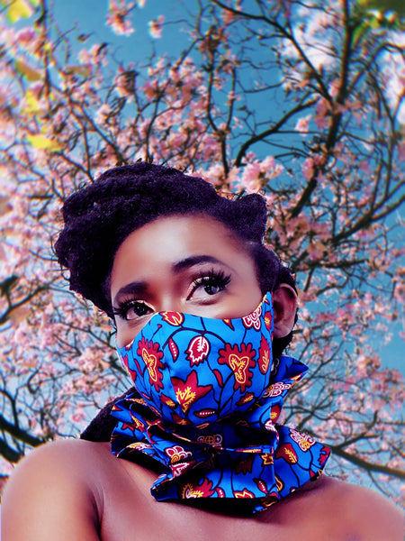 Dromo mask and neck piece set - Akese Stylelines