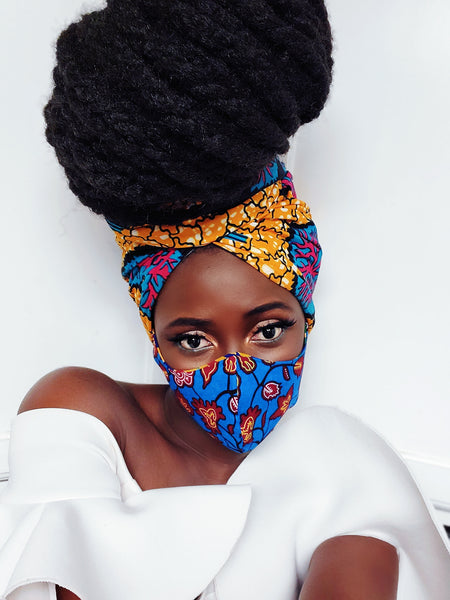 Dromo mask and headwrap - Akese Stylelines