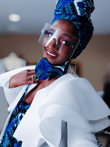 Zeta mask and headwrap. - Akese Stylelines